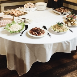 Buffet provided by The Cawdor Hotel